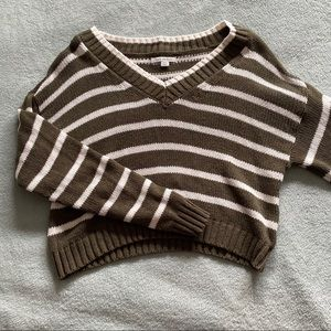 American Eagle Cropped Sweater Size S